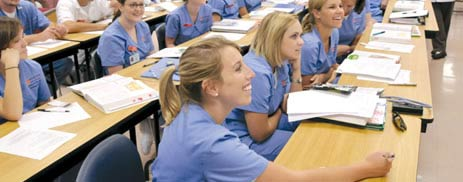 Nursing Assistant lecture classes in college subjects